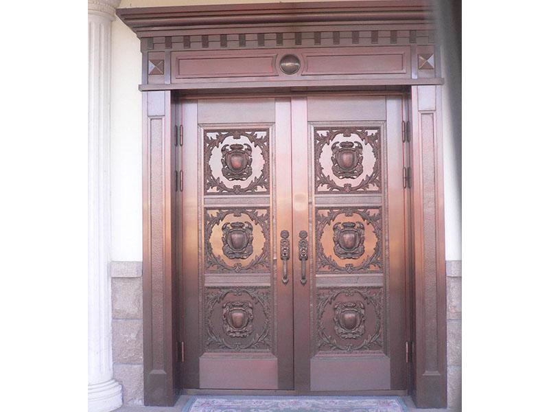 别墅铜门-001