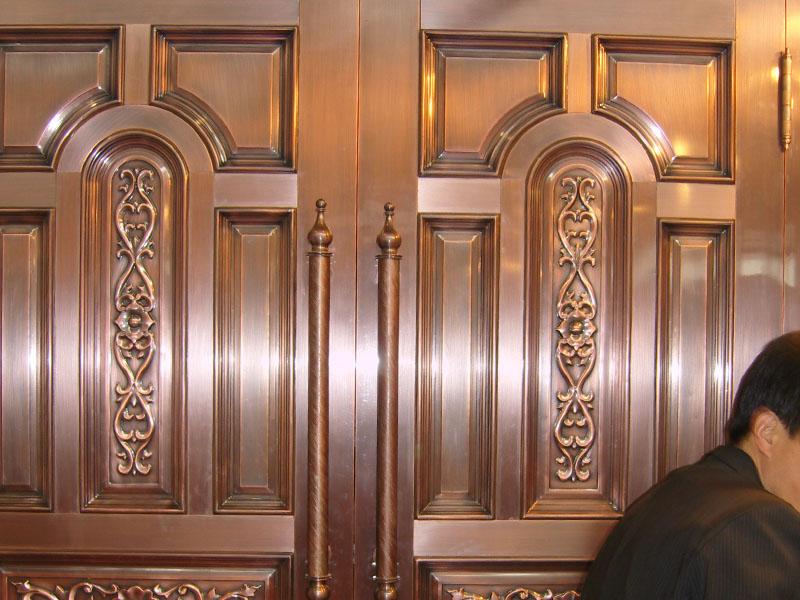 别墅铜门-003