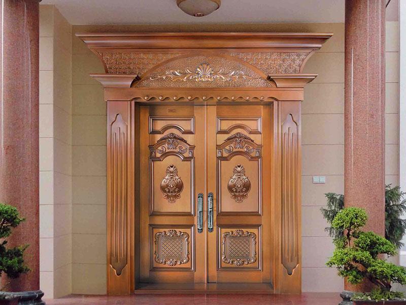 别墅铜门-004