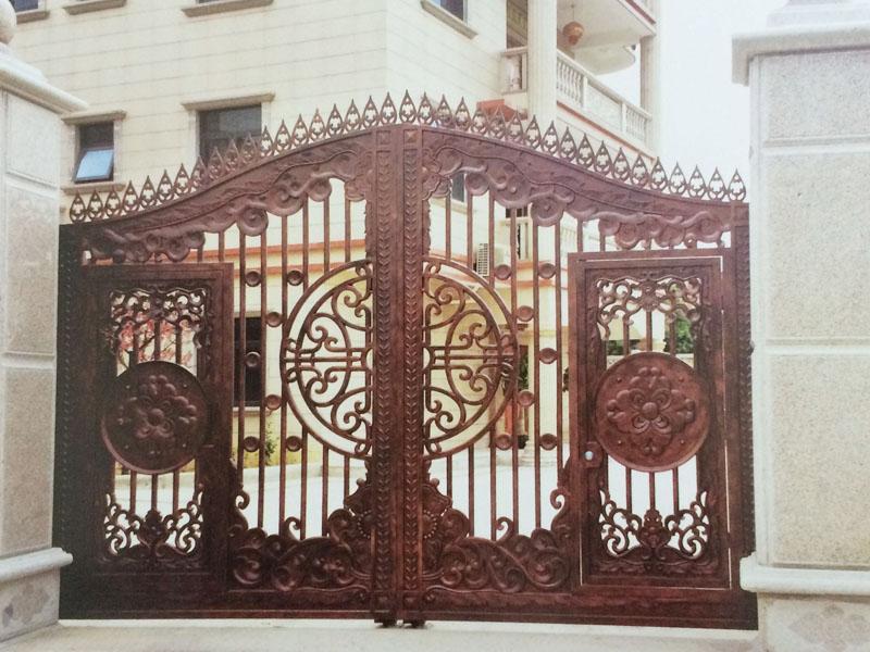 别墅铜门-006