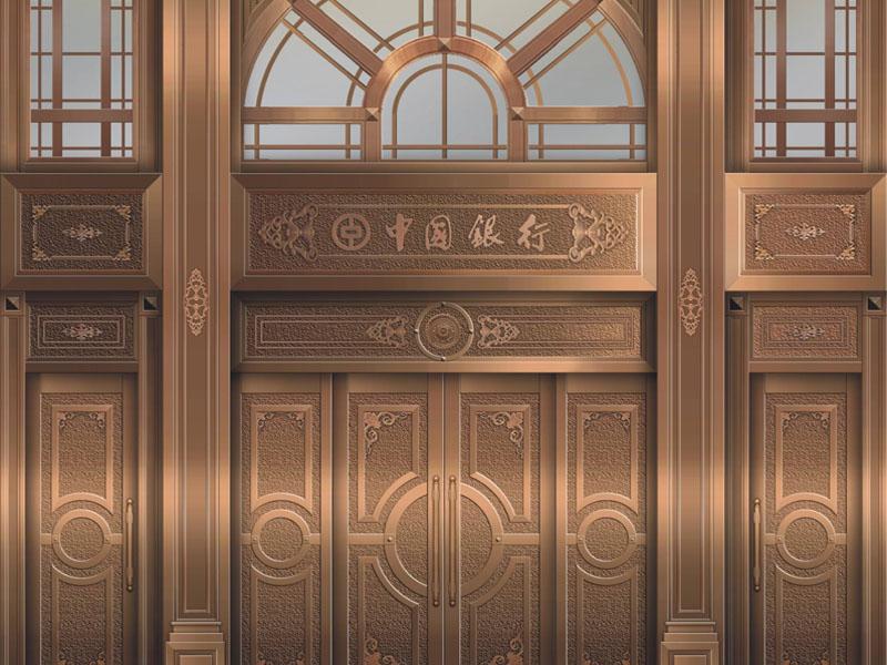 售楼处铜门