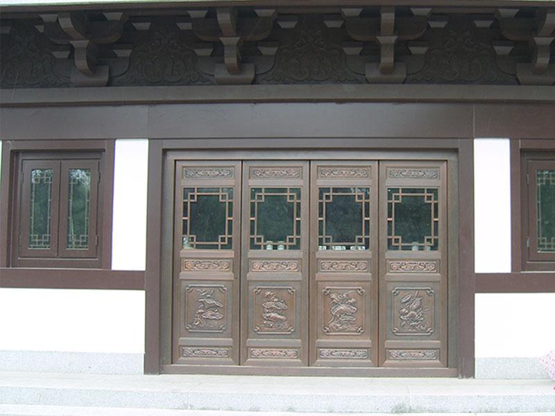院子铜门-007