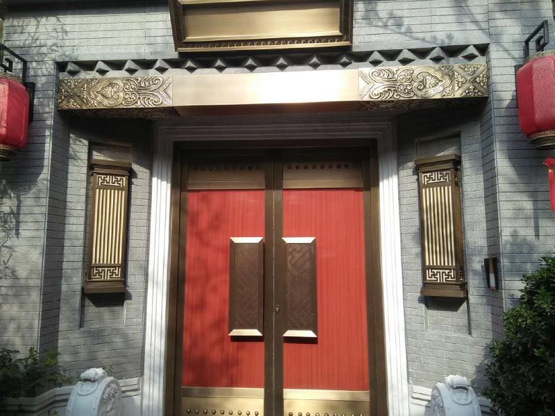 院子铜门-010