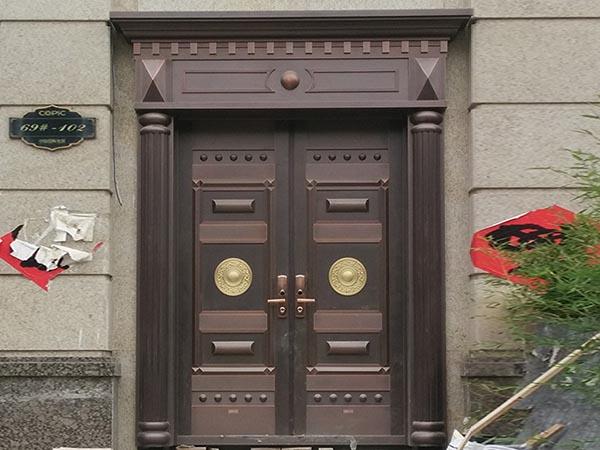 济南别墅铜门